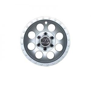 Rally Wheel Cover-Silver Metallic