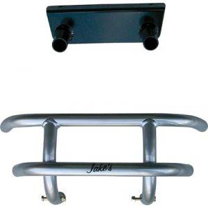 Small Front Bumper-Gunmetal-EZGO