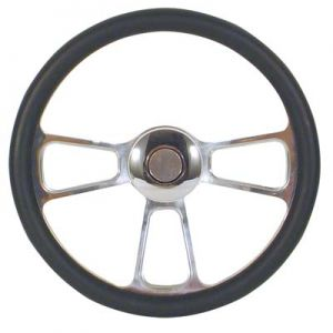 Steering Wheel-Billet Trike-Carbon Fiber