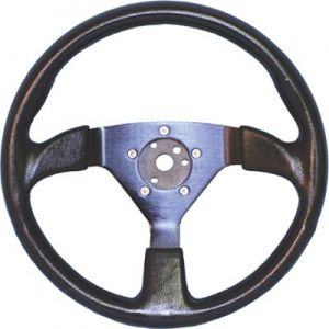 Formula 1 Steering Wheel-Black