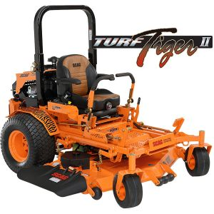 "Scag Turf Tiger II 61"" Velocity Plus Deck with 31HP Kawasaki DFI"