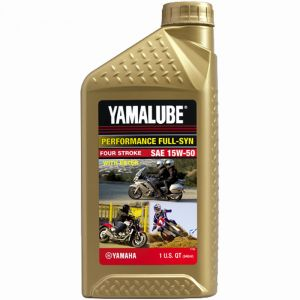 Yamalube Performance Full-Synthetic 15W-50-1 quart