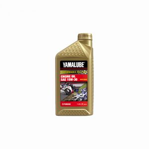 Yamalube Performance Full-Synthetic 15W-30-1 quart