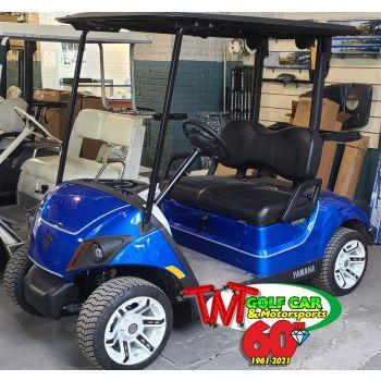 SOLD- Beautiful Custom 2021 Yamaha Drive2 Fleet EFI Gas Golf Car