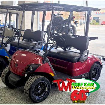 SOLD- New Jasper 2021 Yamaha Drive² QuieTech PTV EFI Gas Golf Car with IRS
