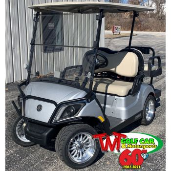 SOLD- 2021 Moonstone Yamaha Drive2 QuieTech PTV Gas Golf Car with upgraded accessories