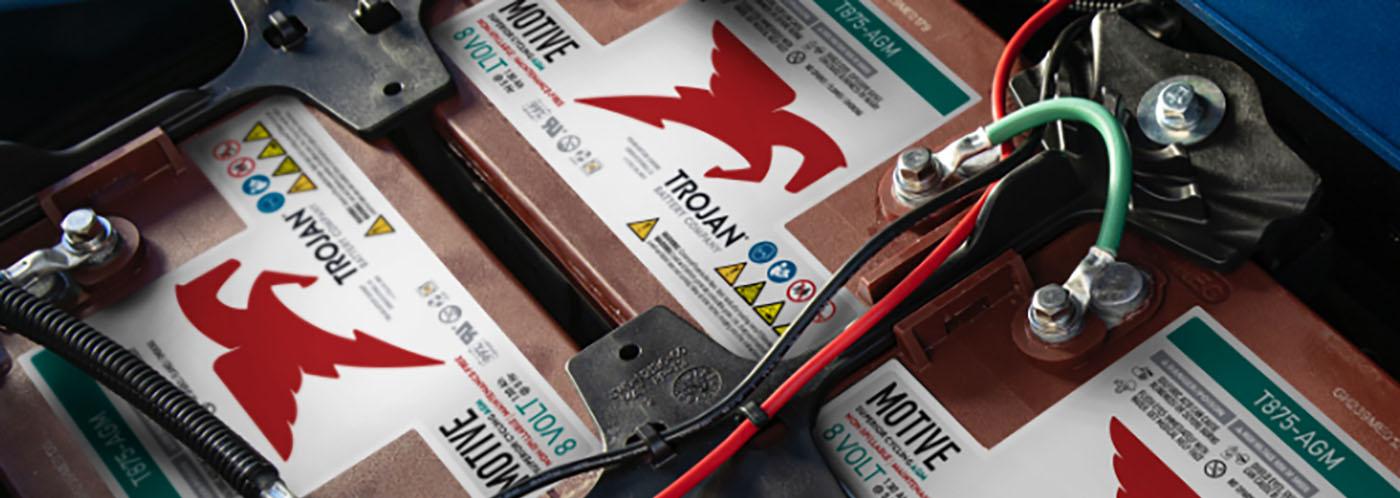 Trojan Motive T875 AGM Batteries Battery Lead Acid